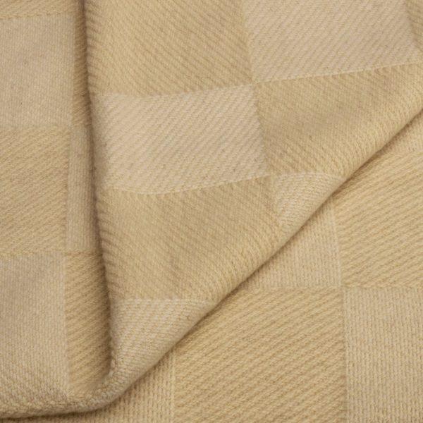 Merino deka nebarvená, kostky 150 x 200 cm