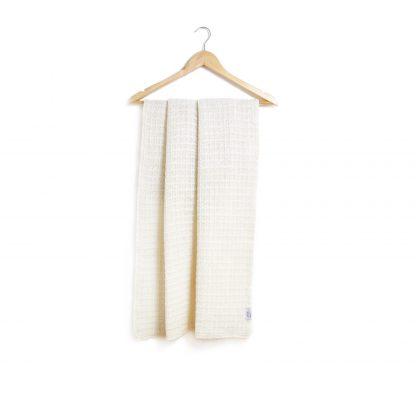 Dětská merino deka nebarvená se vzorem 75 x 100 cm