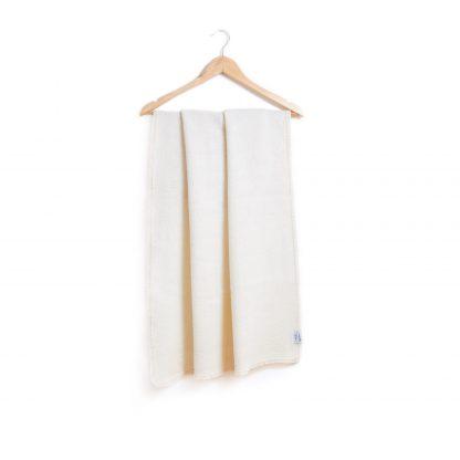 Dětská merino deka tkaná nebarvená 75x100cm