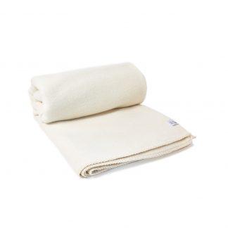 Merino deka valchována nebarvená, 150 x 200 cm