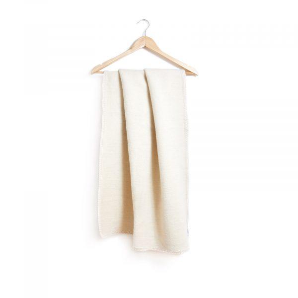 Dětská merino deka valchována nebarvená, 75 x 100 cm