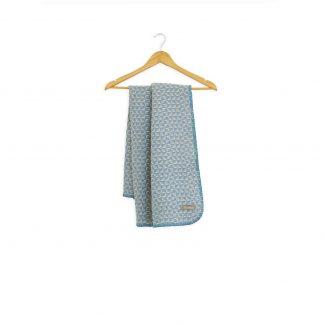 Dětská merino deka Burel modrá 80 x 100 cm