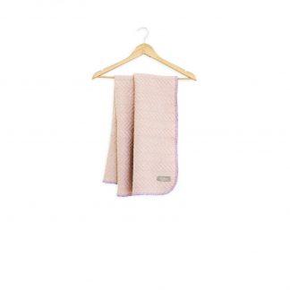 Dětská merino deka Burel růžová 80 x 100 cm